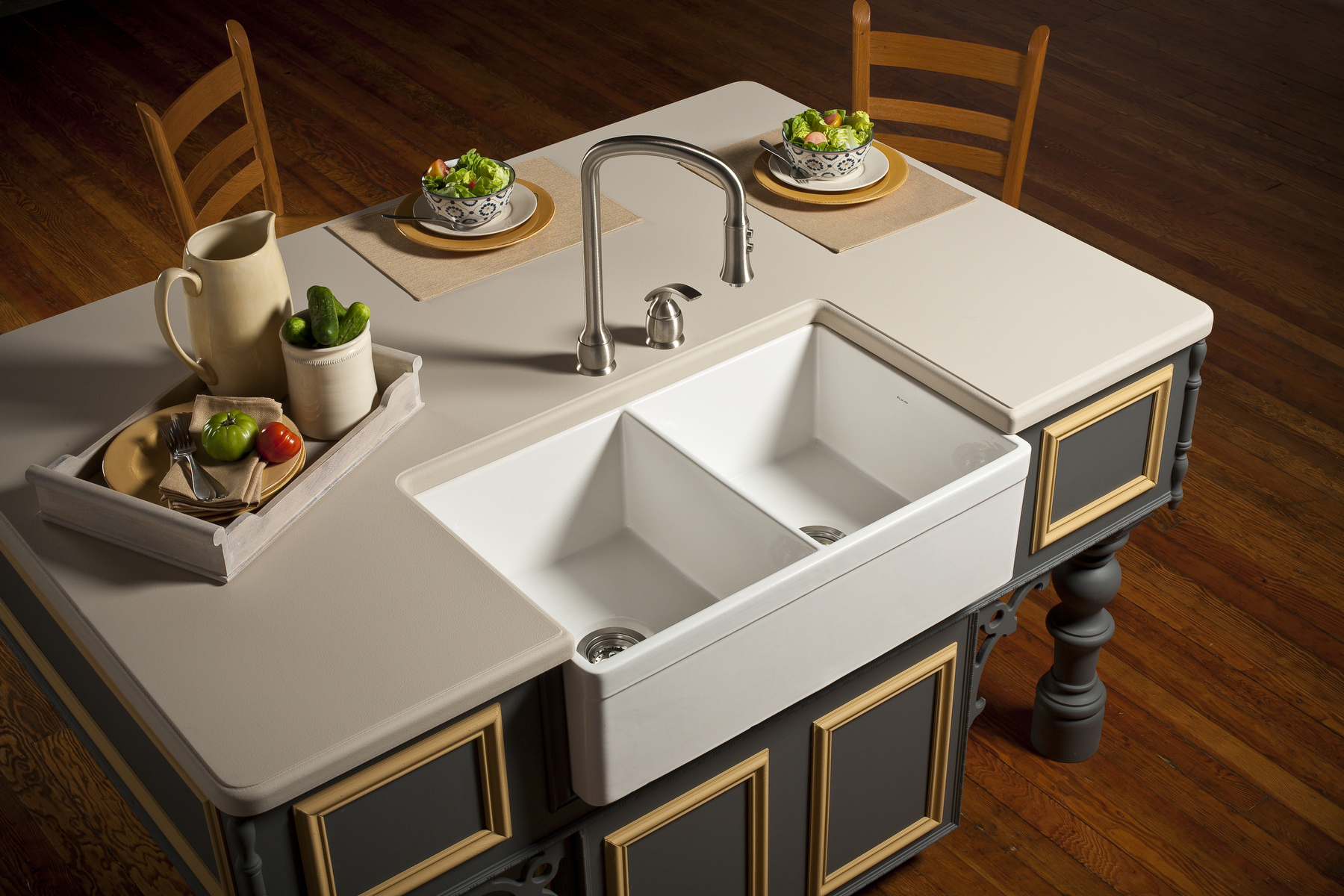 Unique Modern Undermount Sink Design