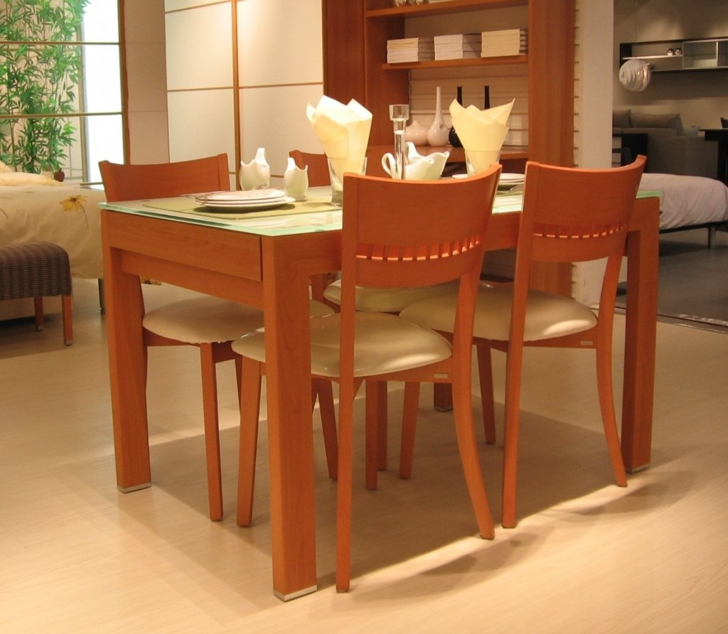 Unique And Luxury Wood Dining Room Table (Image 11 of 11)