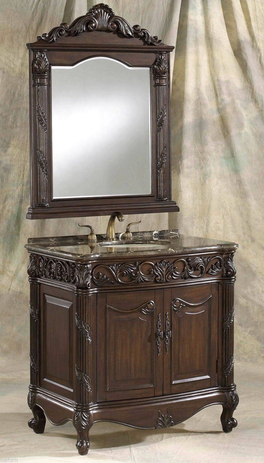 Vintage Bathroom Vanity Furniture (Image 17 of 17)