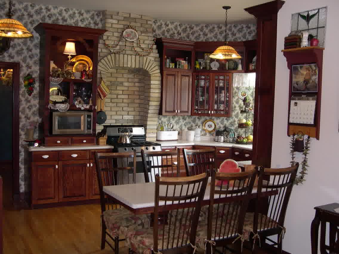 Vintage Victorian Kitchen Decoration (View 5 of 18)