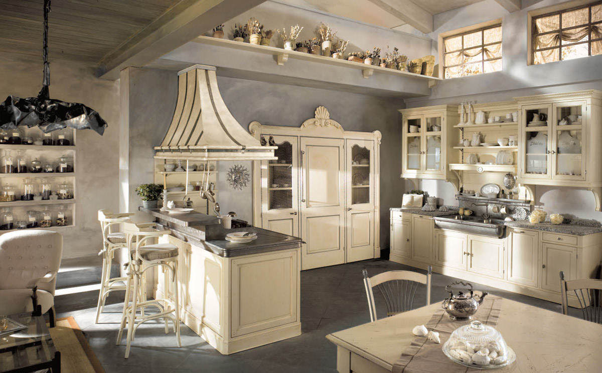 White French Country Kitchen Chairs (View 4 of 11)