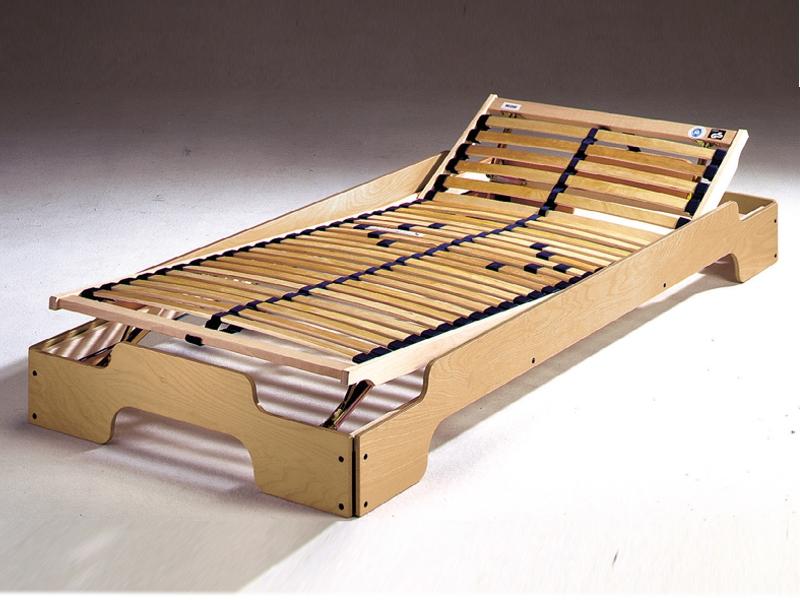 Wooden Adjustable Bed Frame (Image 10 of 10)