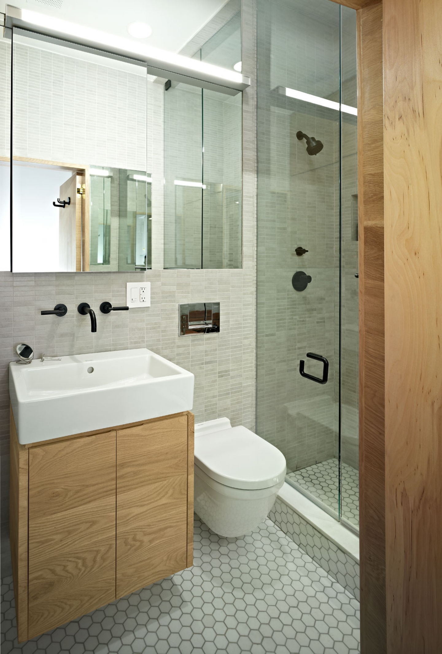 Wooden Cabinet For Small Bathroom Ideas (View 2 of 10)