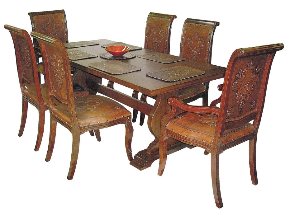 Wooden Dining Table (Image 19 of 19)