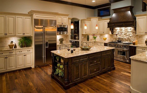 Wooden Rooster Kitchen Design