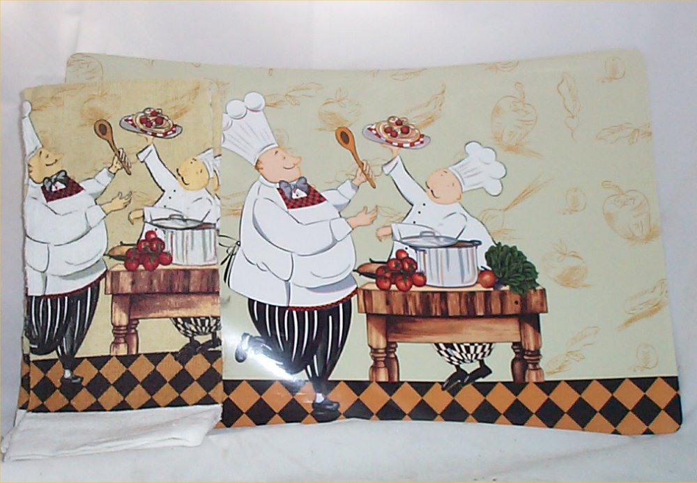 Fat Bistro Chef Kitchen Decor (Photo 4 Of 11)