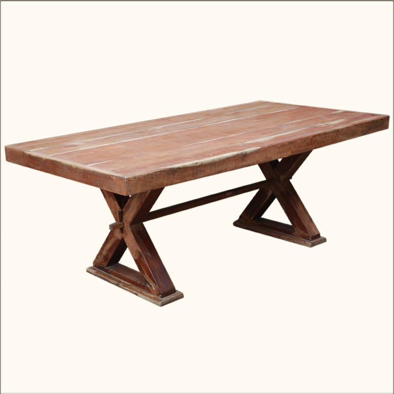 Picnic Table Style Kitchen Table (Image 8 of 10)