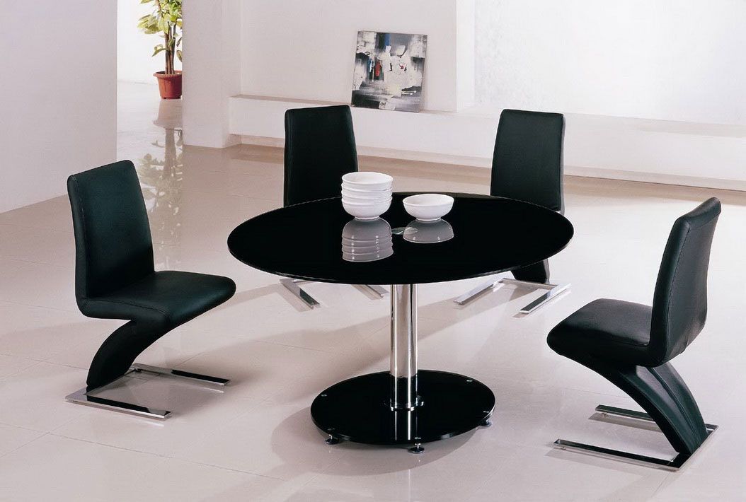 Stainless Steel Round Kitchen Table (Image 10 of 11)