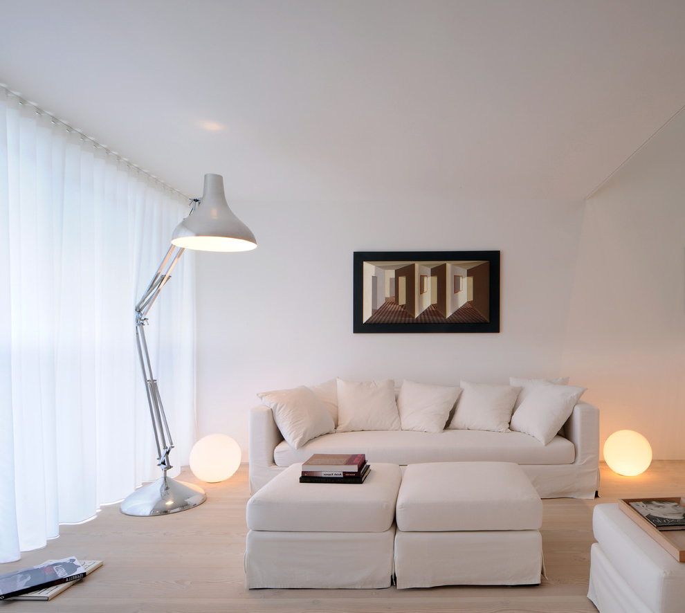 2015 Minimalist Formal Living Room (Image 1 of 14)