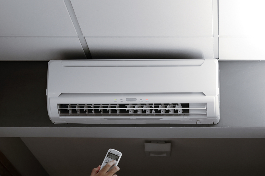 Remote control of an air conditioner