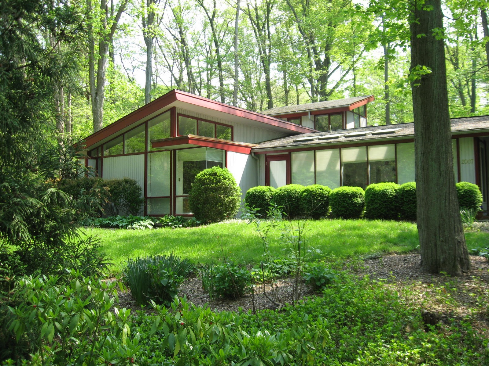 Amazing Century Modern Homes With Green Yard (View 1 of 10)