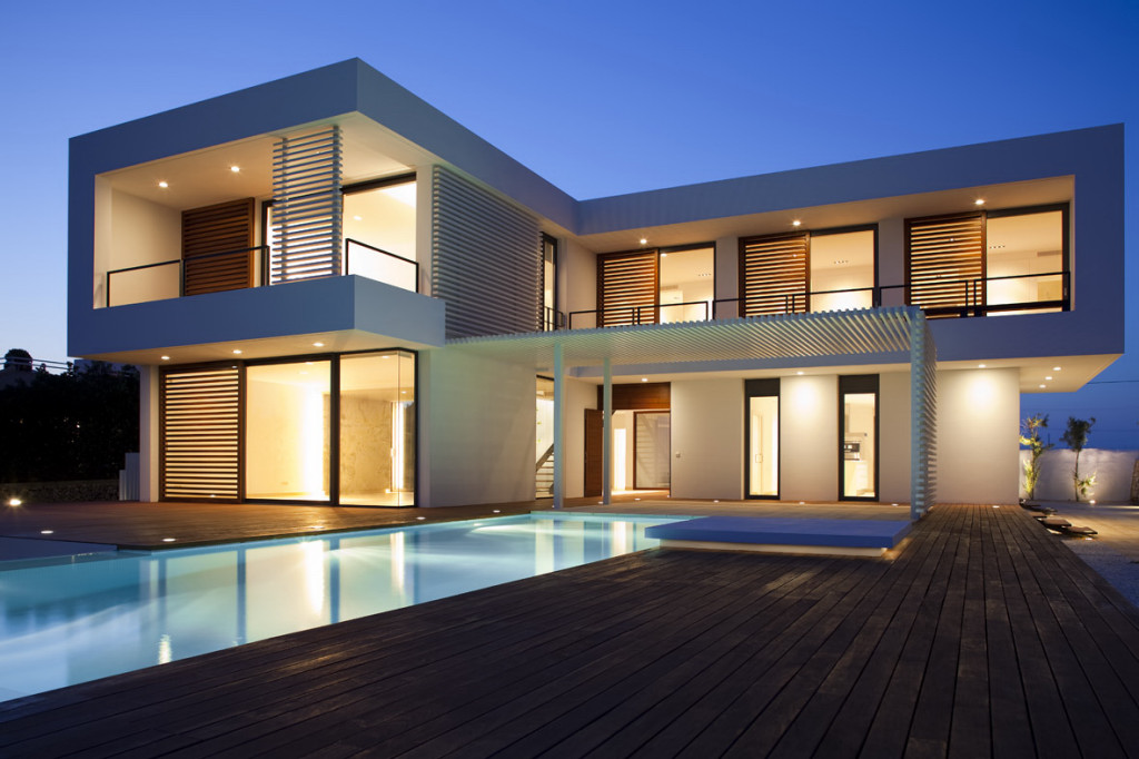 Amazing Modern Architecture Of The Beautiful House (View 4 of 10)
