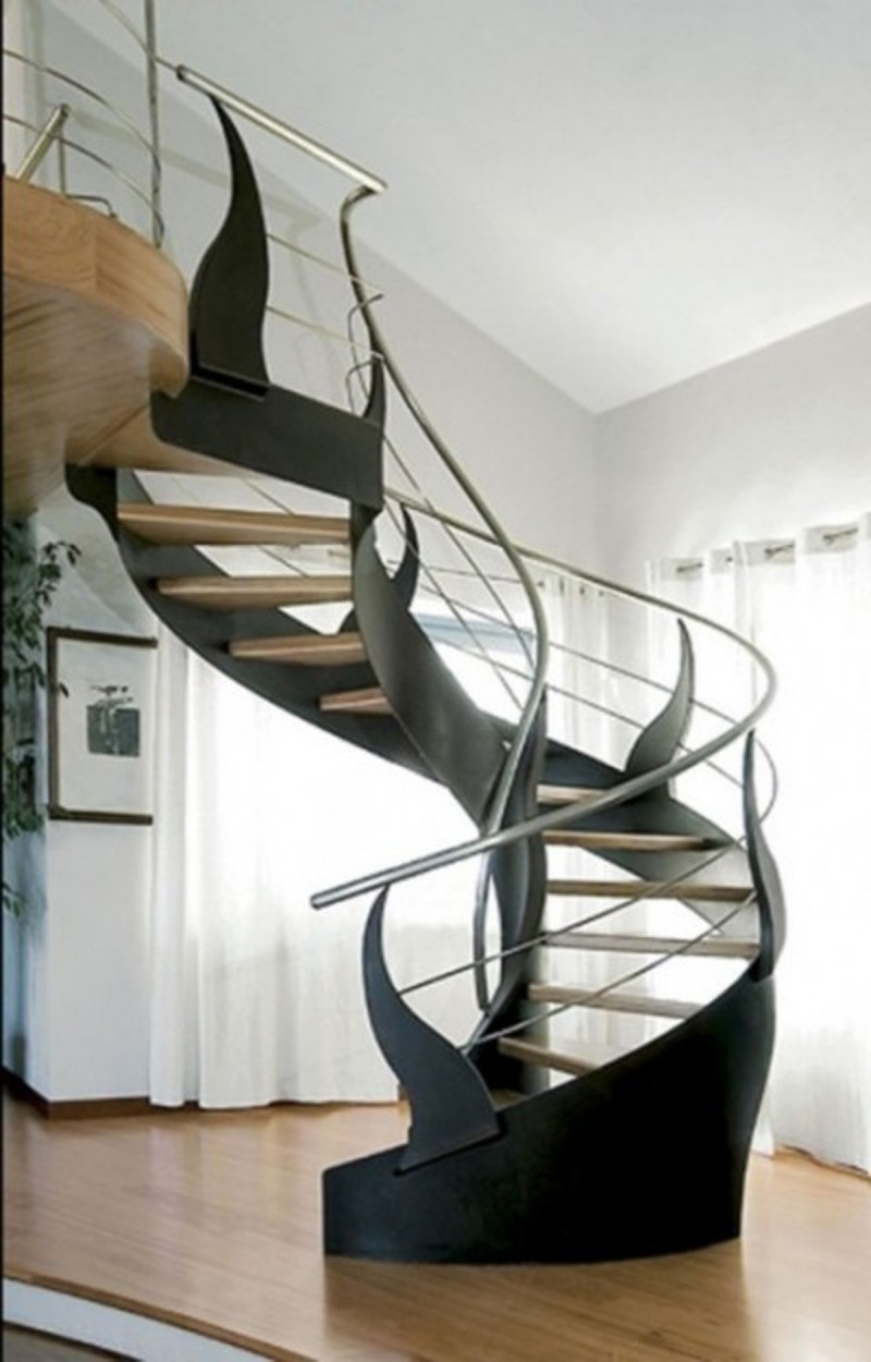 Amazing Spiral Ways for Selecting Railings