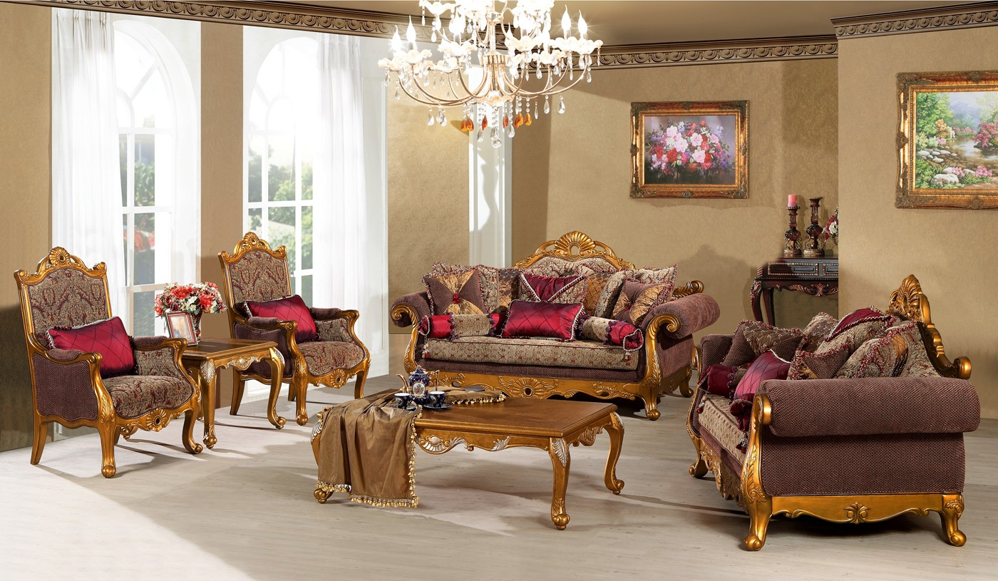 Arabian Classic Sofas Furniture For Living Room (View 2 of 10)