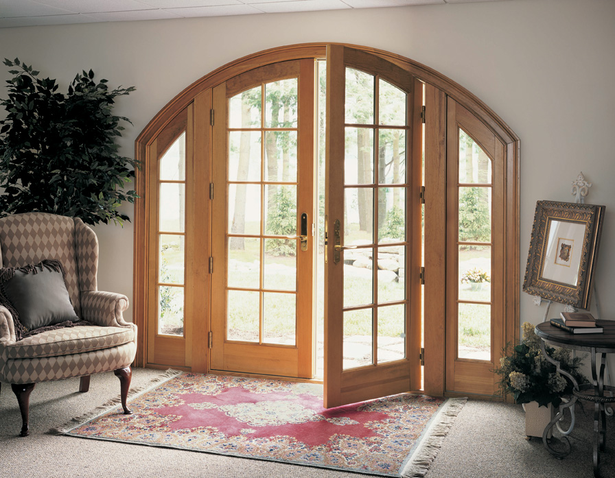 Archtop French Door Marvin (View 2 of 10)
