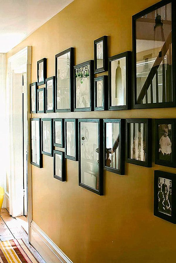 Arraging Creative Ways To Hang Pictures (Image 3 of 10)