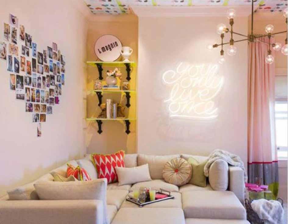 Arraging Heart Creative Ways to Hang Pictures