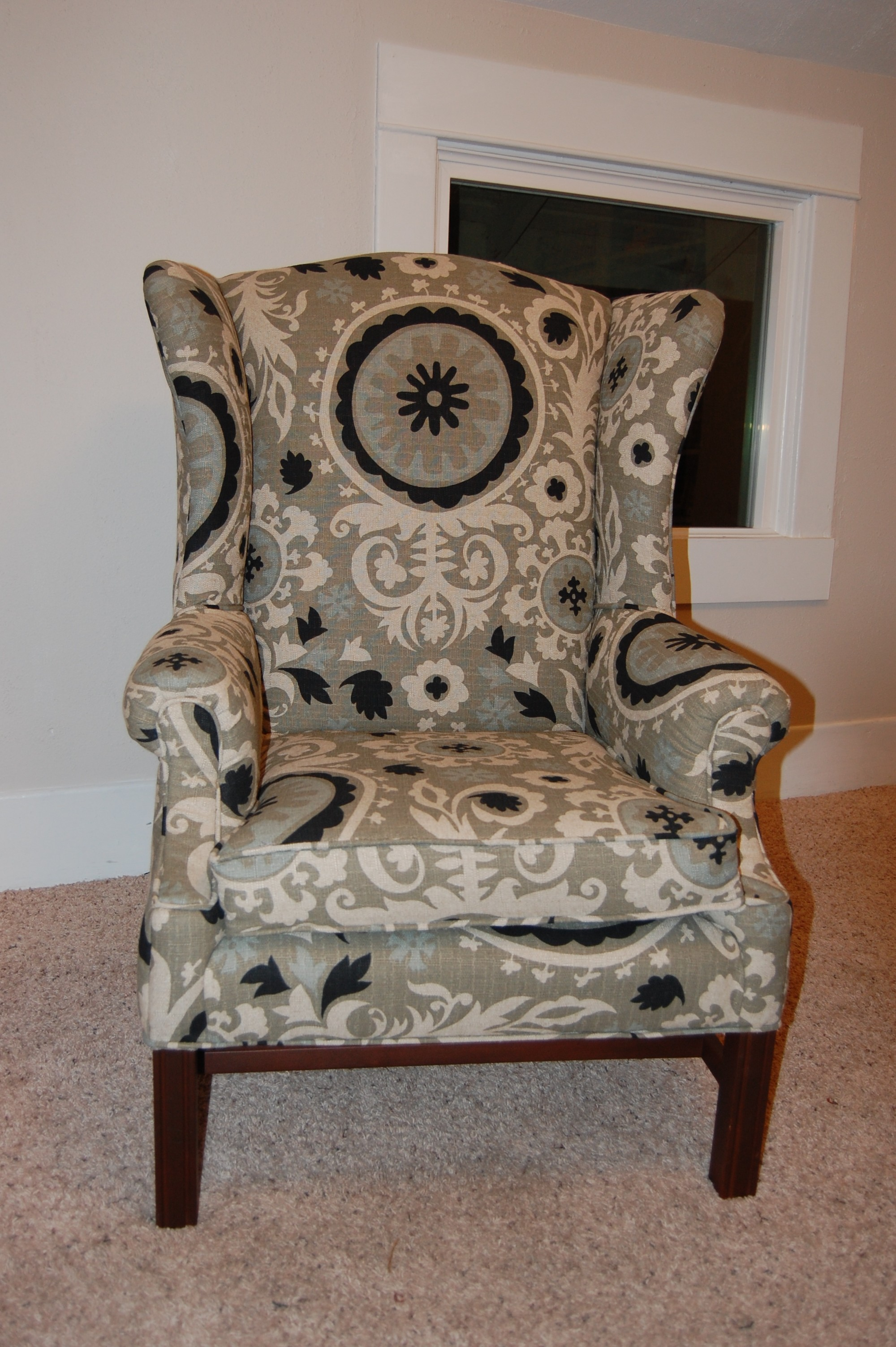 Artistic Reupholstering a Chair Ideas