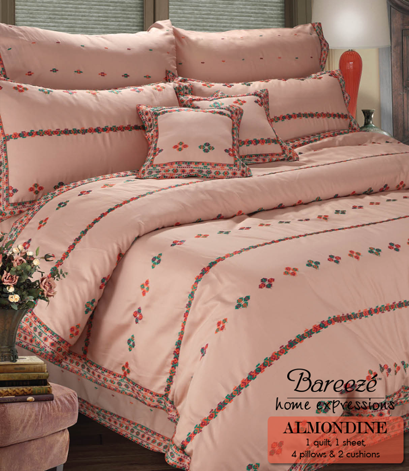 Bareeze Spring Bedding Sets Designs (View 2 of 10)
