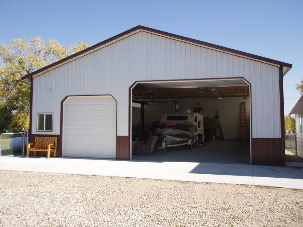 Barn Garages with Two-Levels Ideas