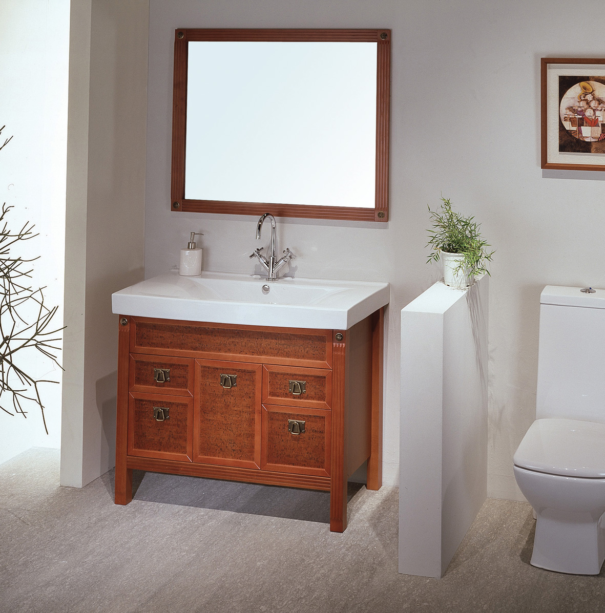 Bathroom Vanity Cabinet (Image 4 of 10)