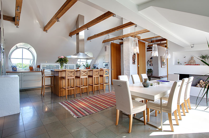 Beautiful Minimalist Penthouse Design (View 2 of 10)