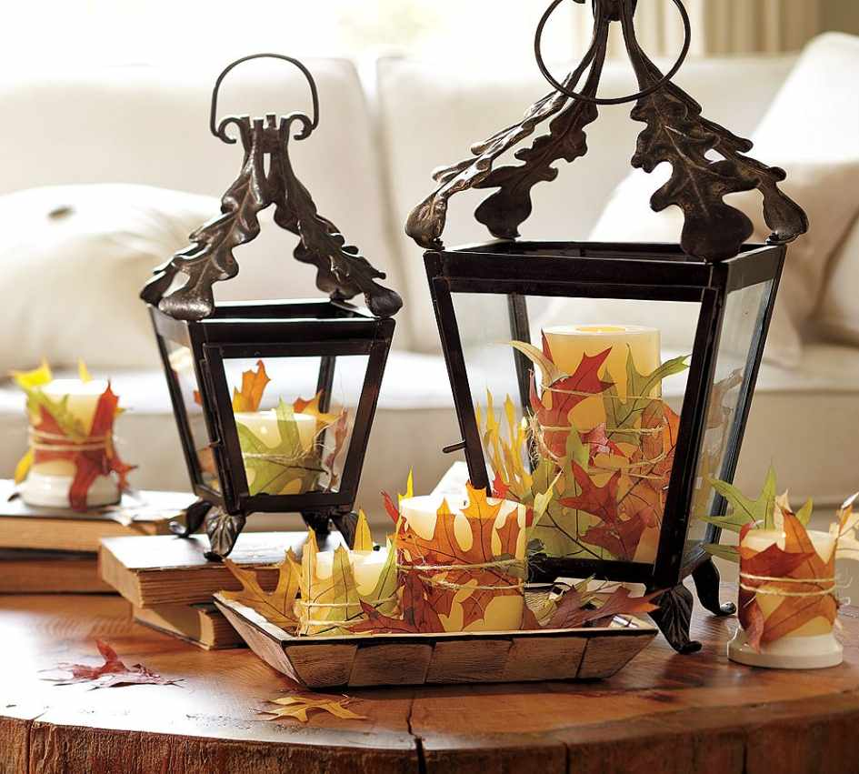 Beautiful Outdoor Decor For Fall With Lovely Attractive Image 2 Of 10