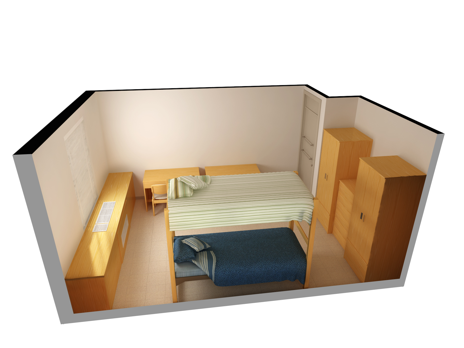 Beautifull Virtual Bedroom (Image 1 of 10)