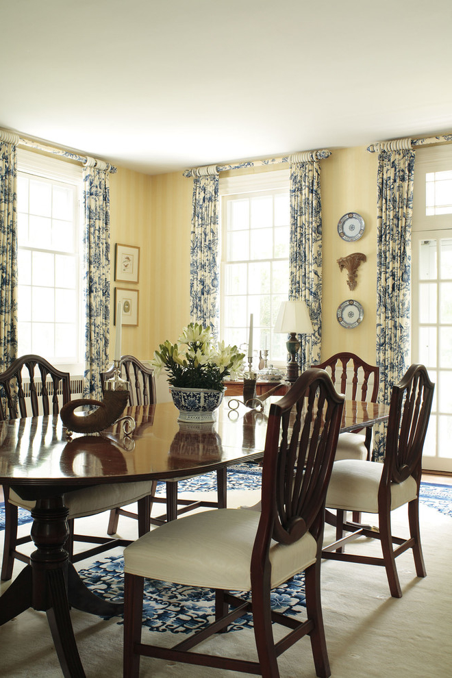 Beauty Nautical Dining Room Curtain (Image 1 of 5)