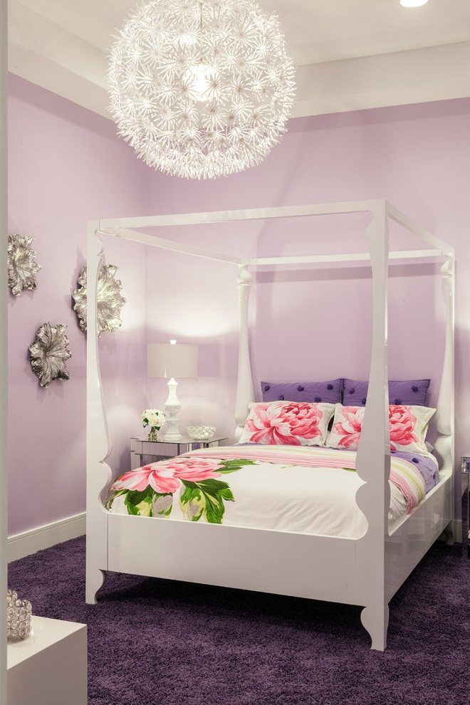 Beauty and Glamour Theme for Girl Bedroom