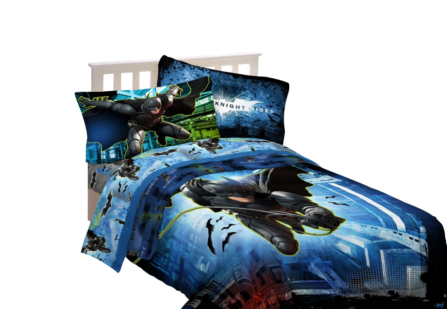 Bed Best Stylish Batman Sheets (Image 1 of 10)