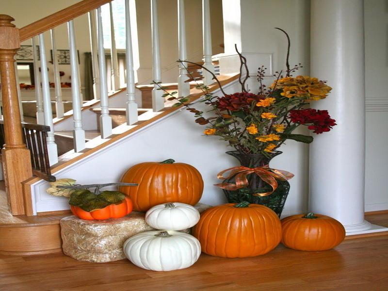 Big Centerpieces For Fall Home Decor Ideas (Image 1 of 10)