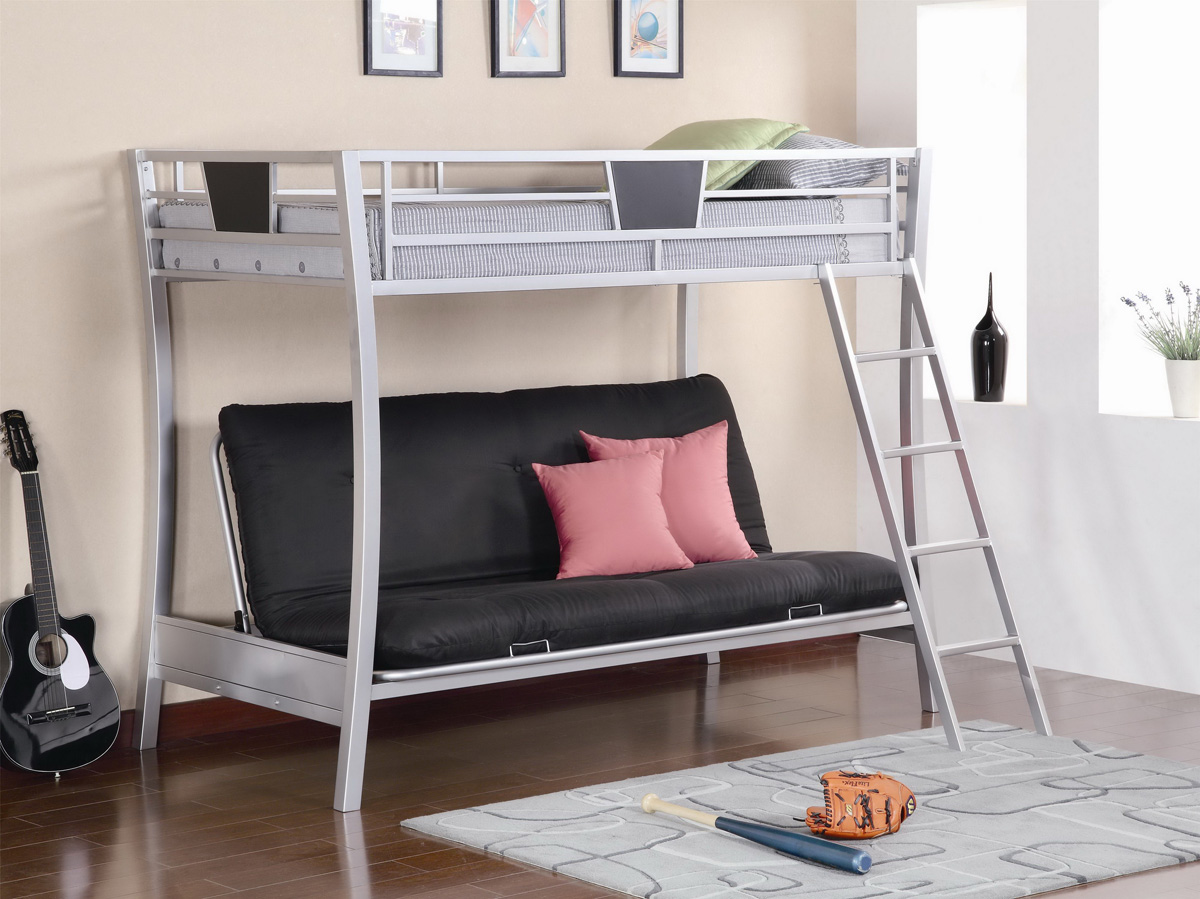 Black Elegant Unique Bunk Bed