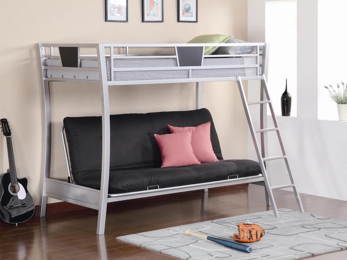 Black Elegant Unique Bunk Bed (View 1 of 10)
