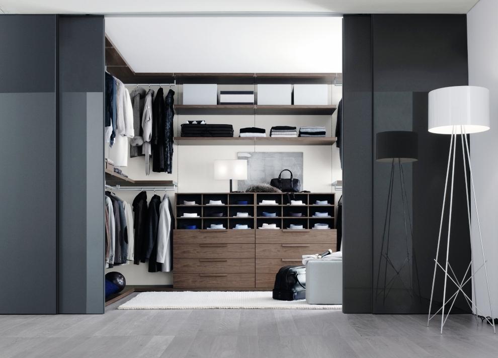 Black Elegant Wardrobe Closet Common Types