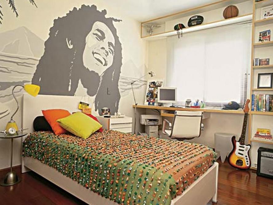 Bob Marley Theme Bedroom (View 9 of 10)