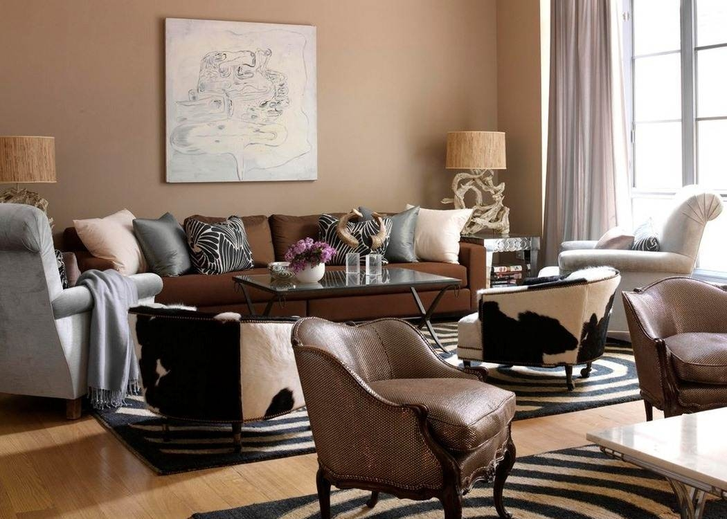 Brown Calming Paint Colors for Neutral Room