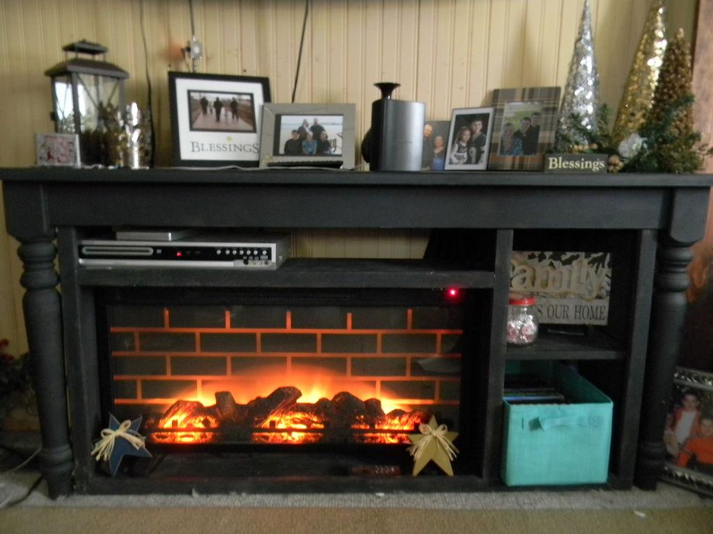 Building a Faux Fireplace