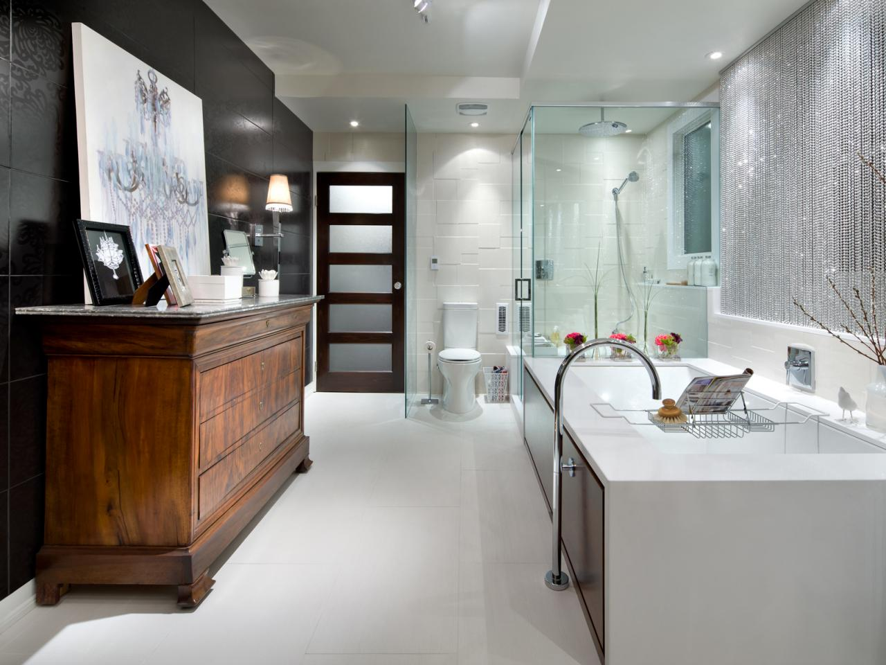 Candice Olson Electric Luxury Bathroom