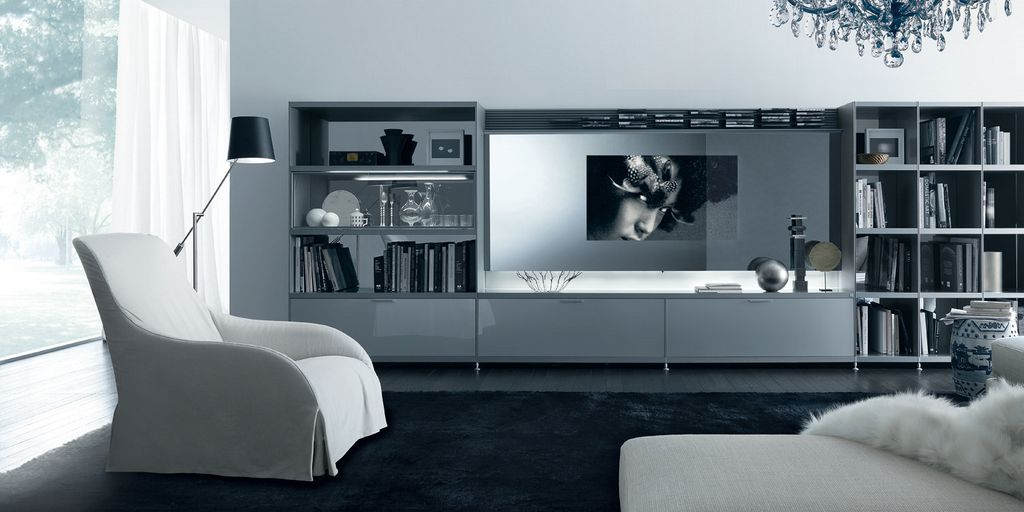 Cartesia Central Living Room TV Unit (View 4 of 10)