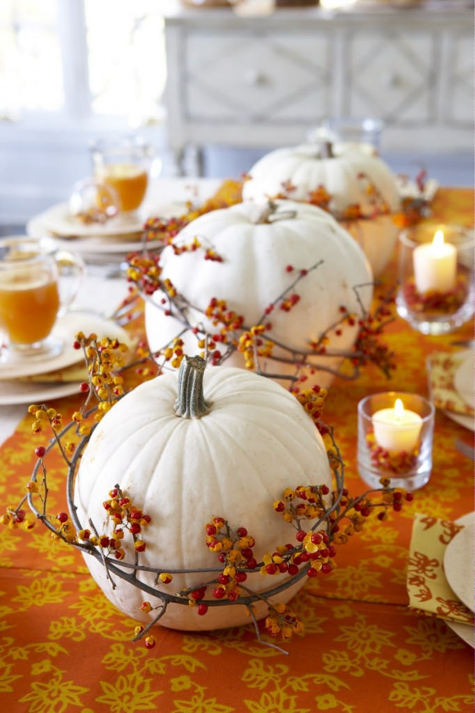 Centerpieces For Fall Home Decor Ideas (Image 2 of 10)