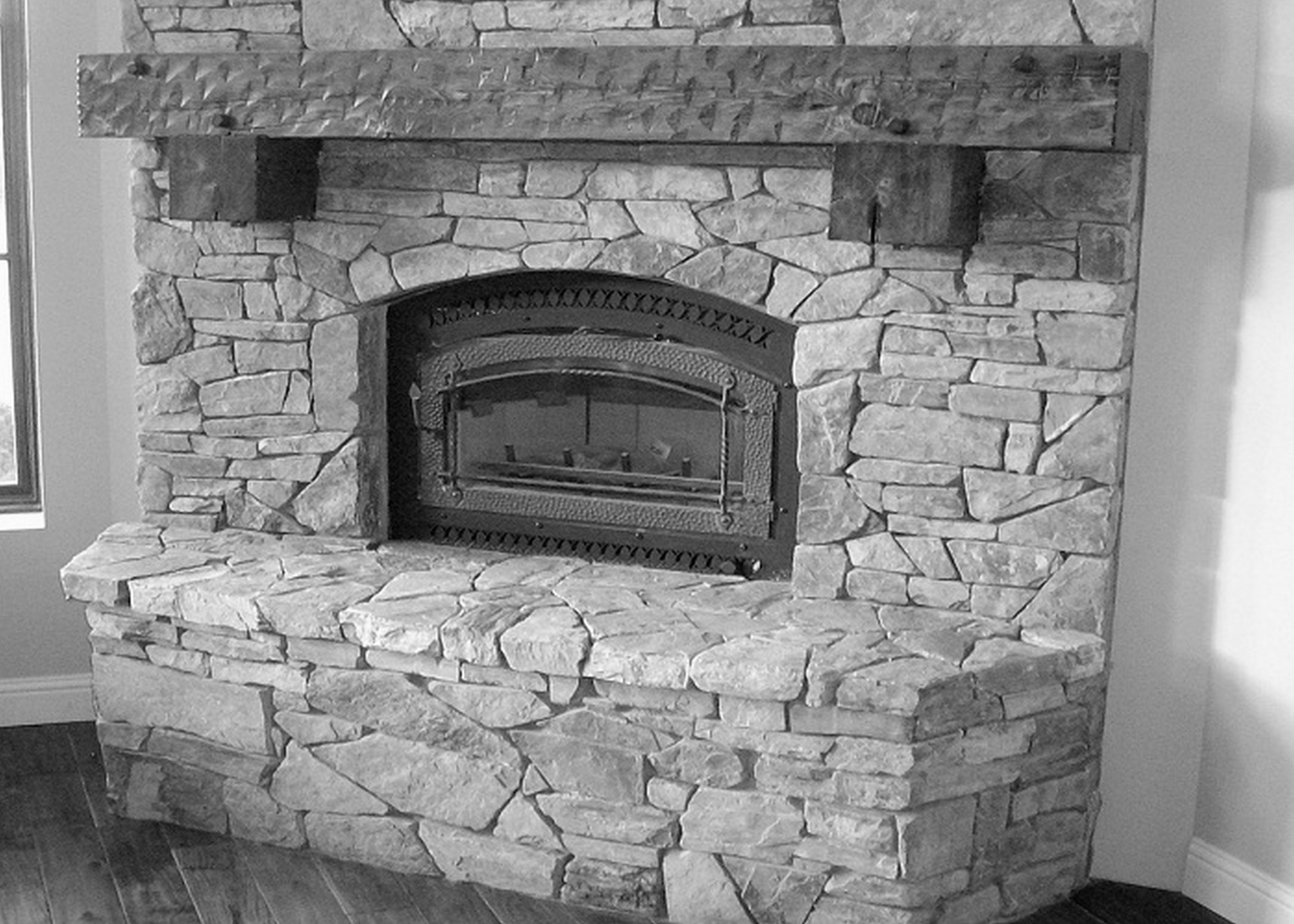 Classic Fireplace Mantel Kits Ideas (View 2 of 10)