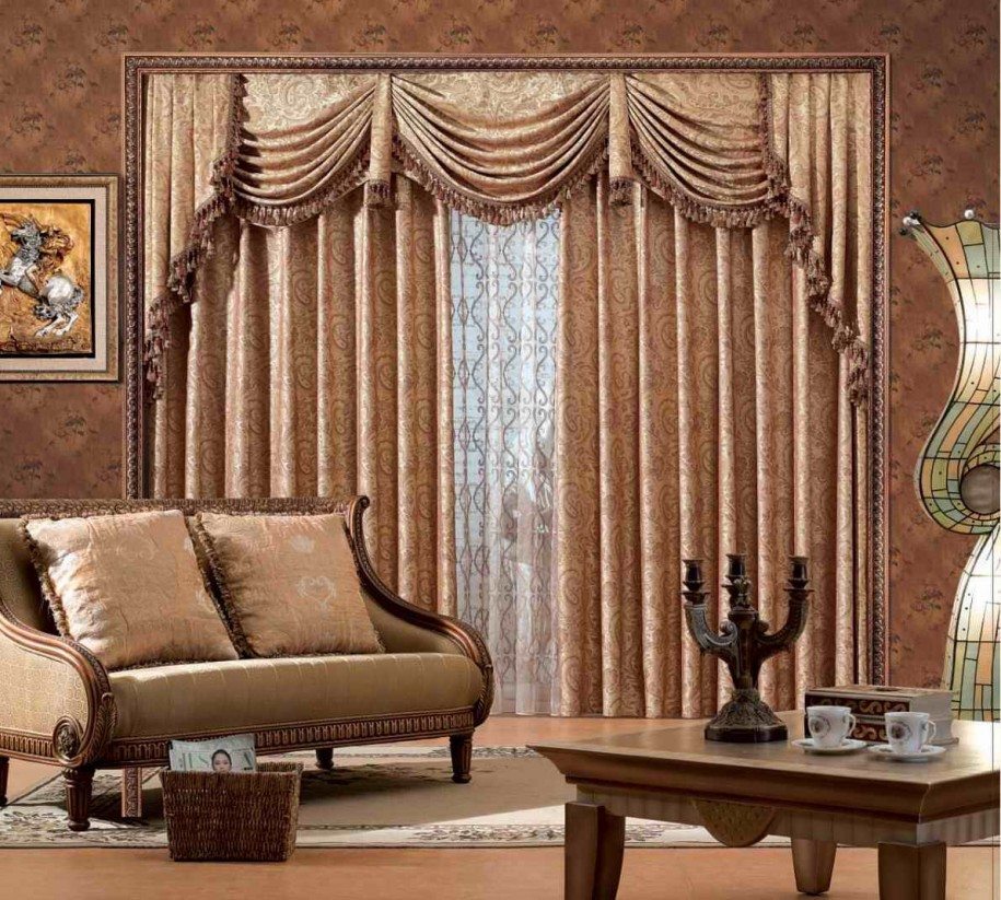 Classic Living Room Curtains Ideas