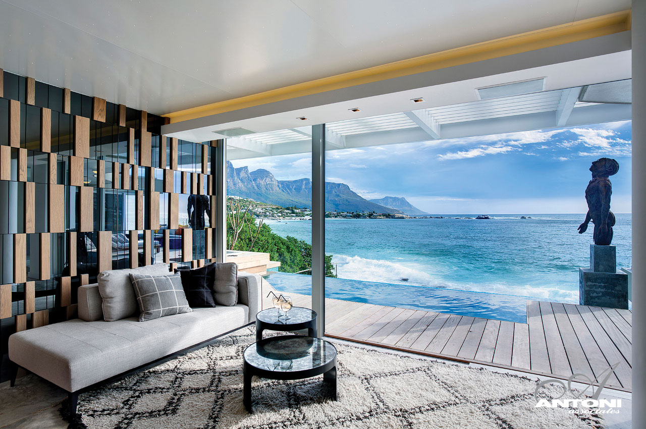 Clifton Bedroom Interior With Ocean (Image 2 Of 10)