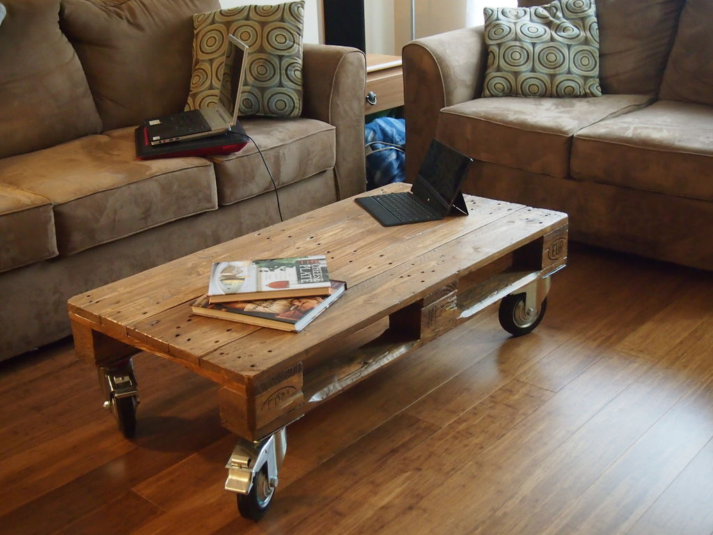 Coffee Table From Reclaimed (Image 2 of 10)