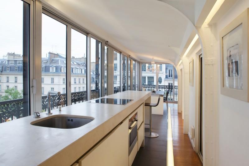 Contemporary Kichen Minimalist Penthouse Design (View 3 of 10)