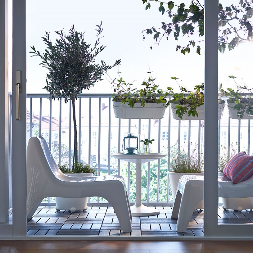 Contemporary Patio Furniture In Cozy Design (Image 4 of 20)