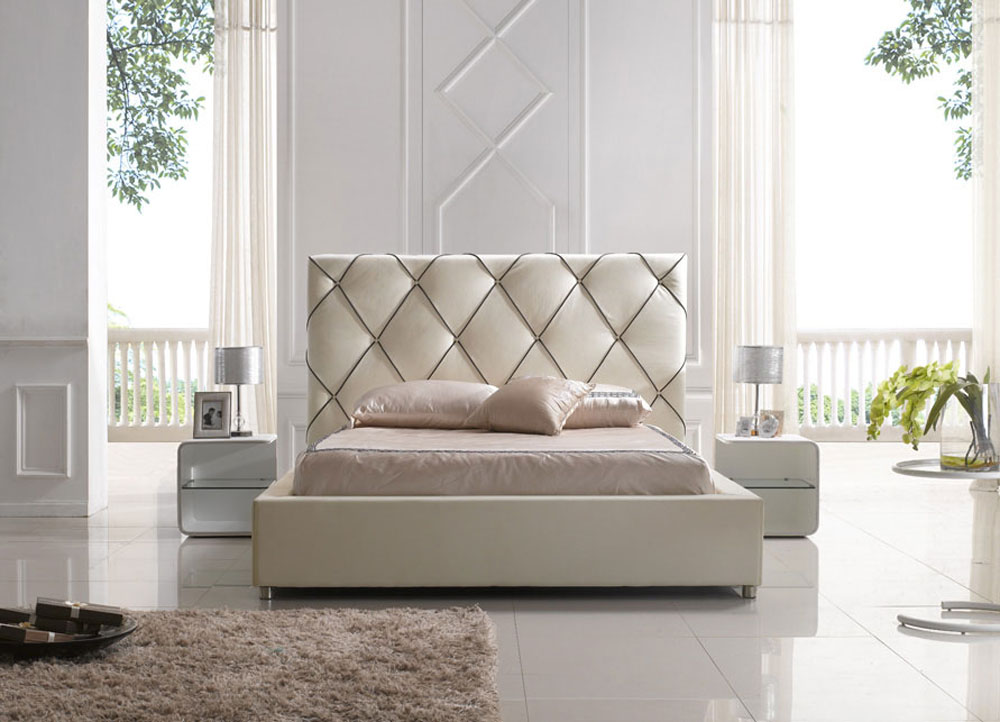 Contemporary Platform Beds Modern (View 9 of 10)