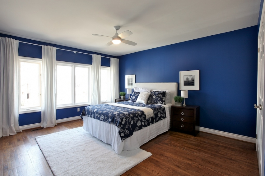 Boys room paint ideas to know custom home design for Cool blue bedroom ideas