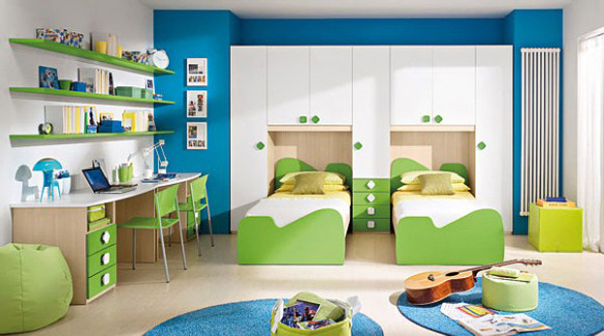 Cool Kid Bedroom Designed